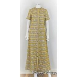 1970 Gold Lurex Dress