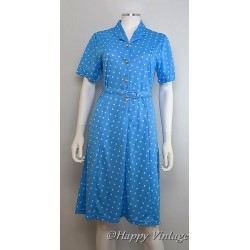 Blue Spotted Dress