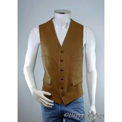 Lambourne Mens Camel Colour Waistcoat