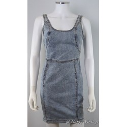 Top Shop Denim Short Dress