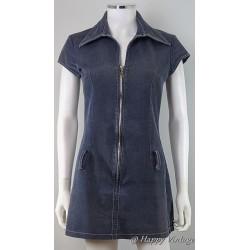 Jane Norman Denim Pinafore Dress
