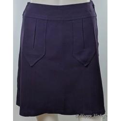 1960s Purple Mini Skirt