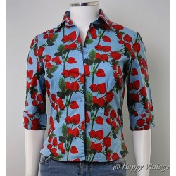 Blue Strawberry Shirt