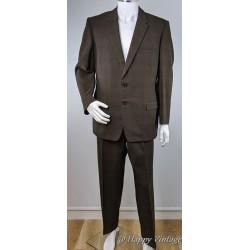 Vintage Dark Brown Suit