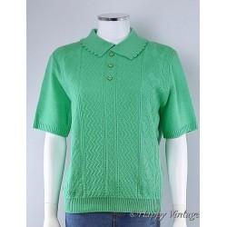 Vintage Merrygold Green Jumper