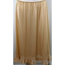 St Michael Vintage Beige Petticoat