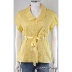 Yellow Dorothy Perkins Blouse