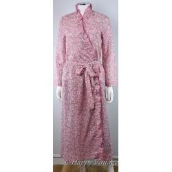 Vintage Paisley Print Dressing Gown