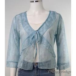 Turquoise Evening Jacket