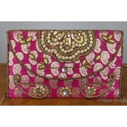 Pink Oriental Hand Bag