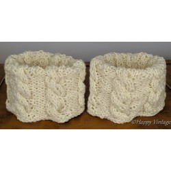 Knitted 80's Ankle Warmers