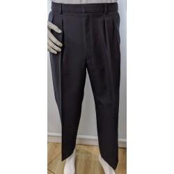 British Rail Blue Pleat Trousers