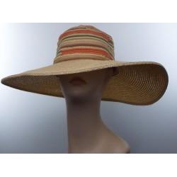 Vintage 20'sStyle Straw Hat