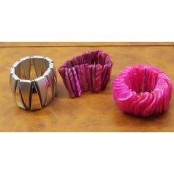 Set of Three Chunky 80's Bracelets