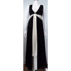 Black and Cream Ballgown