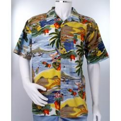 Bright Hawaiian Shirt