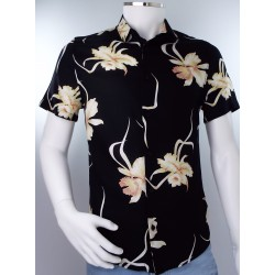 Burton Black Hawaiian Shirt