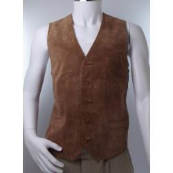 Vintage Suede Waistcoat