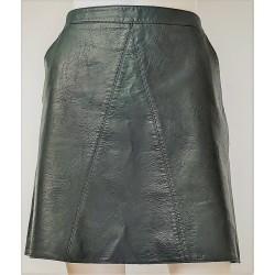 Zara Green Pleather Short skirt