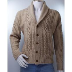 Retro Lambs wool Cardigan