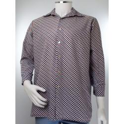 Vintage Diamond Pattern Shirt
