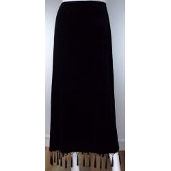 Ronni Nicol Black Velvet Skirt