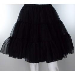 Retro 1950's Net Black Petticoat