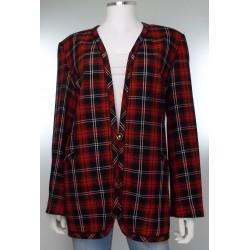 Vintage 80's Tartan Jacket