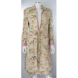 Laura Ashley Flower Skirt Suit