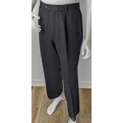 Pierre Cardin Navy Pleat Trousers