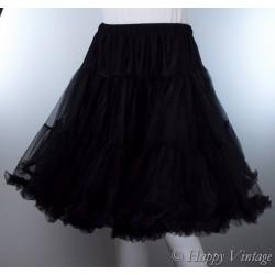 Hell Bunny Black Net Petticoat