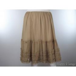 Light Brown Vintage Petticoat