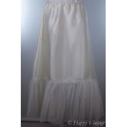 Cream Petticoat with Frill
