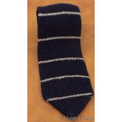 St Michael Blue Stripe Wool Tie