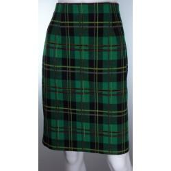 St Michael Green Tartan Short Skirt
