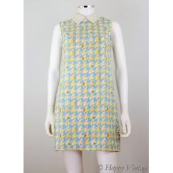 Peter Pan Collar 1960 Shift Dress Size 12