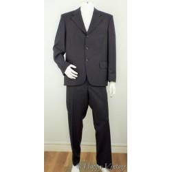 Vintage 1975  Mens Grey Suit  Size 44
