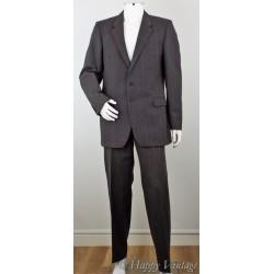 Vintage 1980's St Michael Grey Suit Size 42