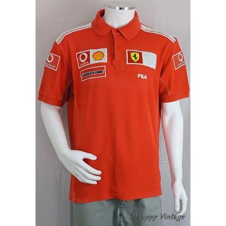 Mens American Red Polo Shirt