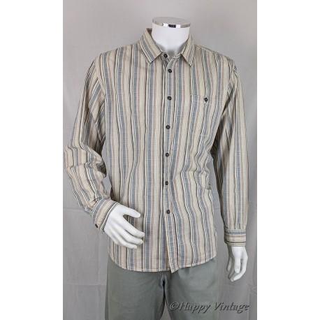 1990's Mens Stripe Shirt