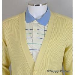 1950 Yellow Cardigan